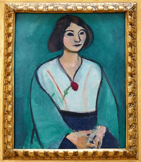 Henri Matisse (1869-1954) : femme en vert