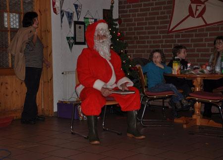 Nikolaus im Bootshaus, 9. Dezember