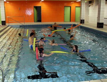 Kinderschwimmen, Abschluss 17. Dezember