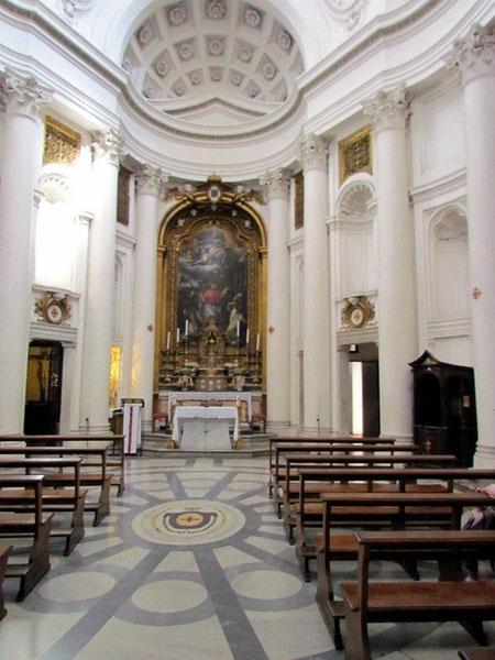Церковь Сан Карло алле Куатро Фонтана, арх. Ф.Борромини.