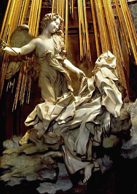 «Экстаз святой Терезы». Работа Л.Бернини.