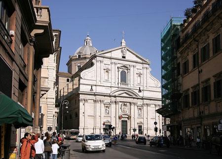 Церковь Иль-Джезу в Риме. Арх. Д.Виньола и Д. делла Порта, 1575г.