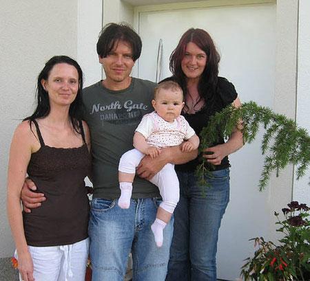 Familie Schwarhofer mit Elfi Krempl