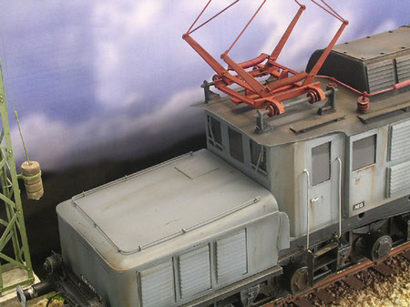 Dezenter Alterung am Reichsbahngrau
