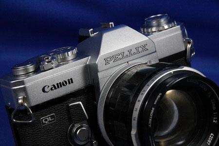 Canon PELLIX QL (Canon FL55mm F1.2付き)