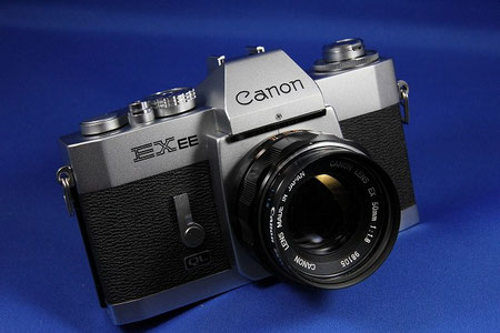 Canon EXEE (Canon EX50mm F1.8 付き)