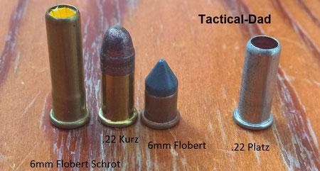 Da in .22 lang Schreckschusswaffen 6mm Flobert und 22 kurz geladen werden können dürfen diese Waffen nicht mehr gefertig werden.