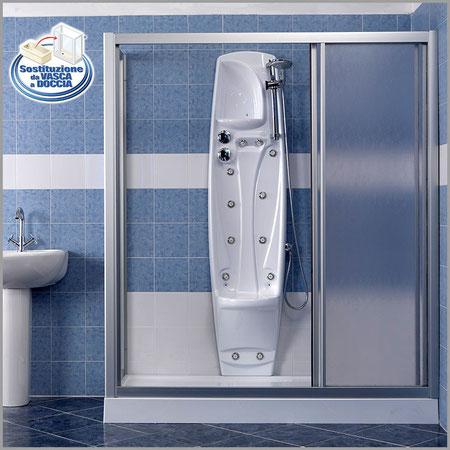 Soluzione con idromassaggio trasforma la vasca da bagno - Soluzioni vasca doccia ...