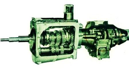 Overdrive Typ J mit M 41 Getriebe