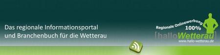 Das Informationsportal und Branchenbuch für die Wetterau