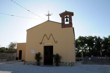 La chiesa risale al 1622