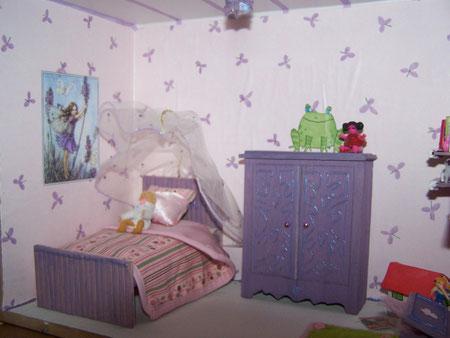 armoire, lit, literie, tapis fait main ....