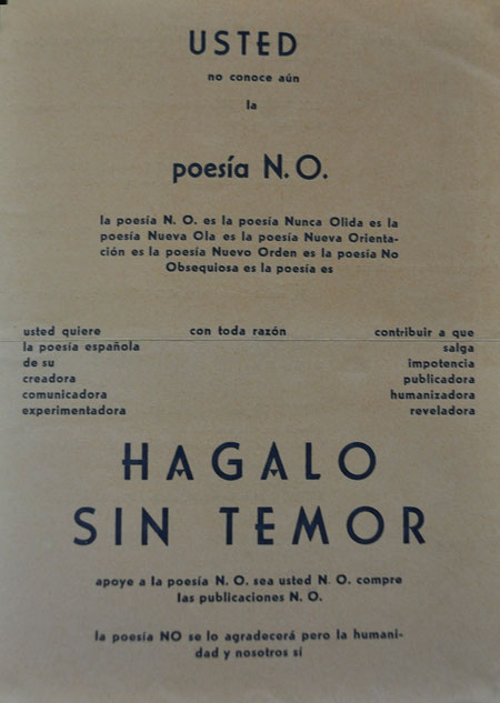 manifiesto poesía n.o.