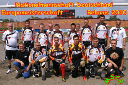 Team DEUTSCHLAND  -  EM 2010 in Weißrussland