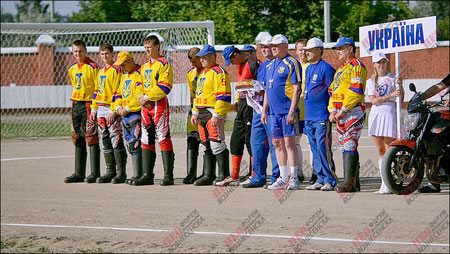Motoball - Nationalmannschaft UKRAINE 2011 (Foto: pashka.ua)