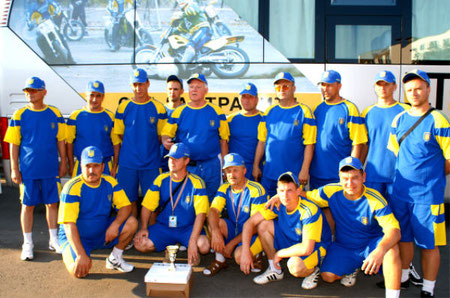 Team Ukraine bei der EM in Belarus 2010