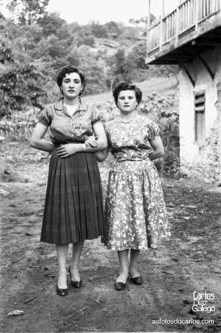 1958-dos-mozas-Carlos-Diaz-Gallego-asfotosdocarlos.com