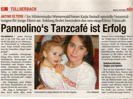 Pannolino's Tanzcafe - Mütterstudio Wienerwald - Katja Steindl