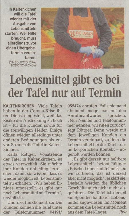 Segeberger Zeitung 03.04.2020