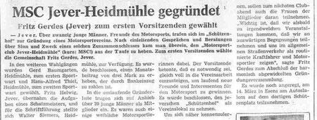 Jeversches Wochenblatt 1985