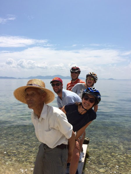 Lake Biwa electric bike tour