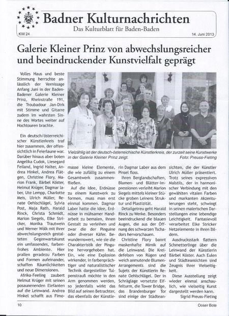 Ausstellung Kleiner Prinz 04.06.2013