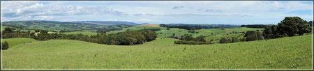 Grünes Neuseeland (zum Vergrößern bitte Anklicken)