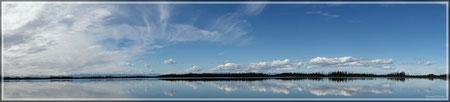 Irgendwo an einem der unzähligen Seen (zum Vergrößern bitte Anklicken)