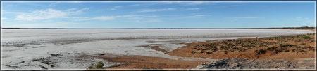 Salzwüste Lake Hart (zum Vergrößern bitte Anklicken)