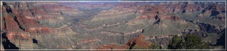 Grand Canyon Südseite (zum Vergrößern bitte Anklicken)