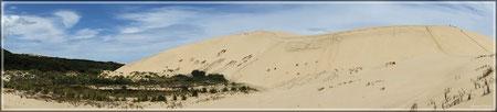 Sanddünen Te Paki (zum Vergrößern bitte Anklicken)