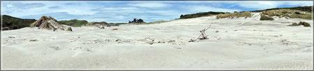 Wharariki Beach (zum Vergrößern bitte Anklicken)