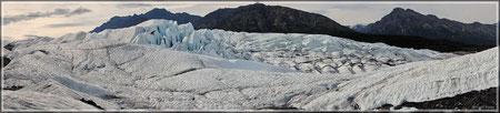 Matanuska-Gletscher (zum Vergrößern bitte klicken)