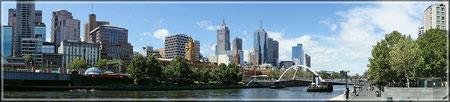 Melbourne Skyline (zum Vergrößern bitte Anklicken)