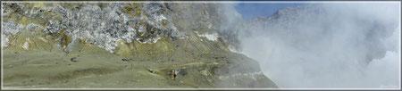 Rechts unten befindet sich der Kratersee (zum Vergrößern bitte Anklicken)