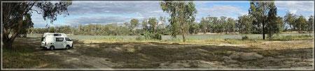 Camping am Murray River (zum Vergrößern bitte Anklicken)