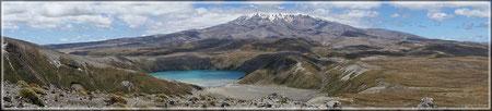 Landschaft im Tongariro-NP (zum Vergrößern bitte Anklicken)