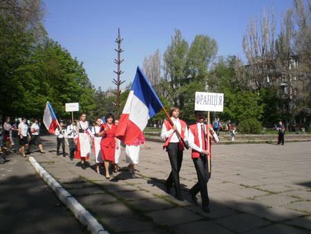 Участь у районному єврофестивалі 2012 рік