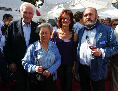 Jesús Infante, Elena, María J. Marrodan y Elías del Río.