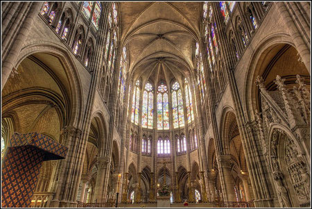 Cabecera de la Catedral de Saint Denis