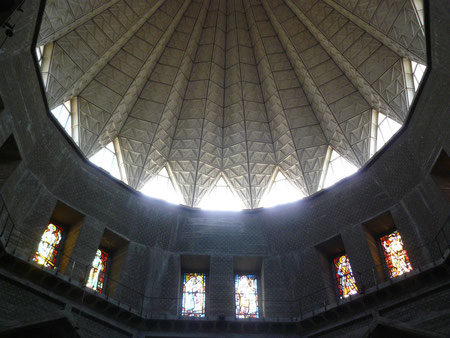 Cúpula de lirio invertido. Basílica de Nazaret