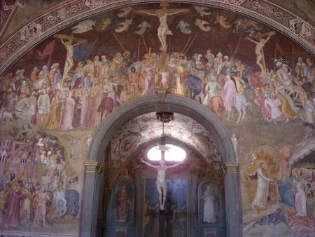 Capilla de los españoles.Claustro verde en Santa Mª Novella.Florencia