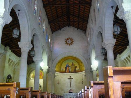 Iglesia Sagrada Familia en Nazaret