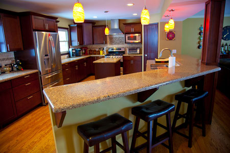 Full-scale kitchen remodel