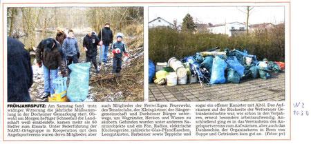 Müllsammlung 2010