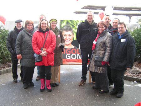 Kantonsratskandidaten und Parteimitglieder