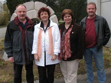 Gemeinderatskandidaten Wyss Martin, Strub Barbara, Fürsinger Maja, Küpfer Markus