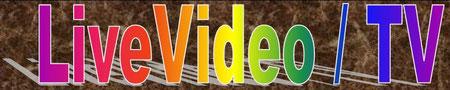 Zur Seite Live Video und TV oben anklicken