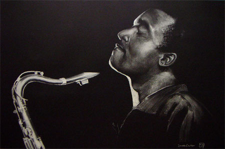 James Carter,Pastellkreide,60x90 cm