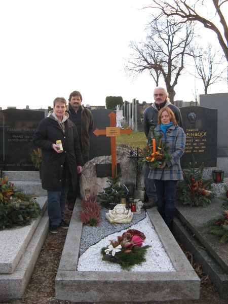 15.12.2013 Trixi, Josef, Franz, Ivana